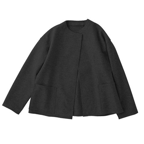 切りっぱなしジャケット 黒