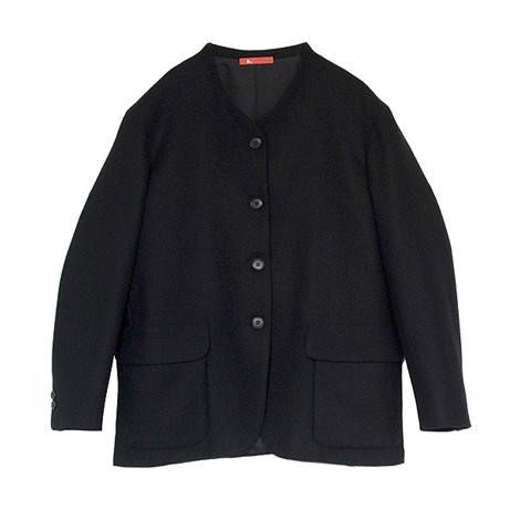 襟なしジャケット