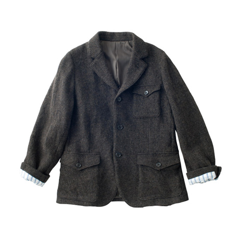 A.Men's ウールジャケット