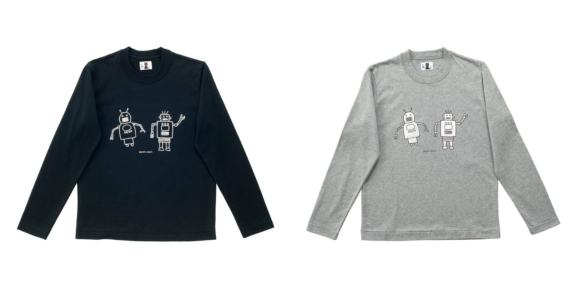 長袖Tシャツ(ロボット)