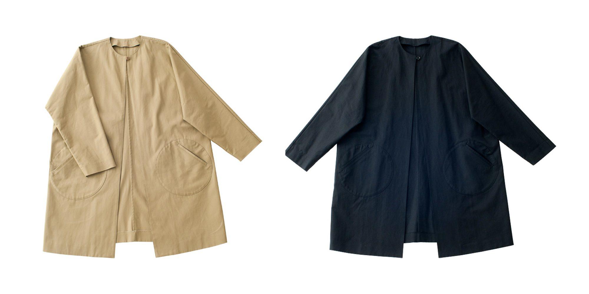 丸ポケットコート
