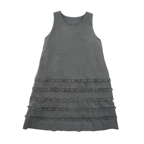 フリルジャンパースカート