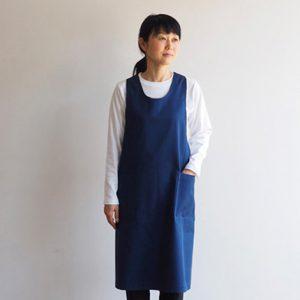 正面(紺)