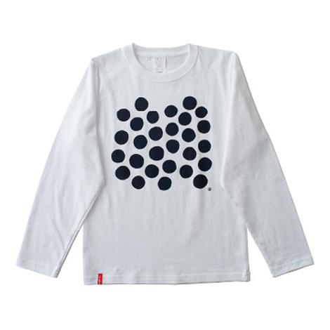 dot長袖Tシャツ