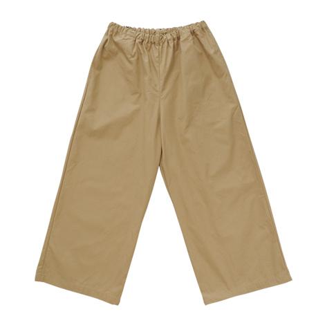 幅広パンツ(綿ギャバ)