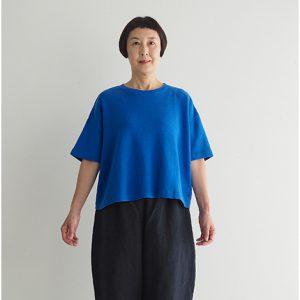青 モデル身長163㎝ Mサイズ着用
