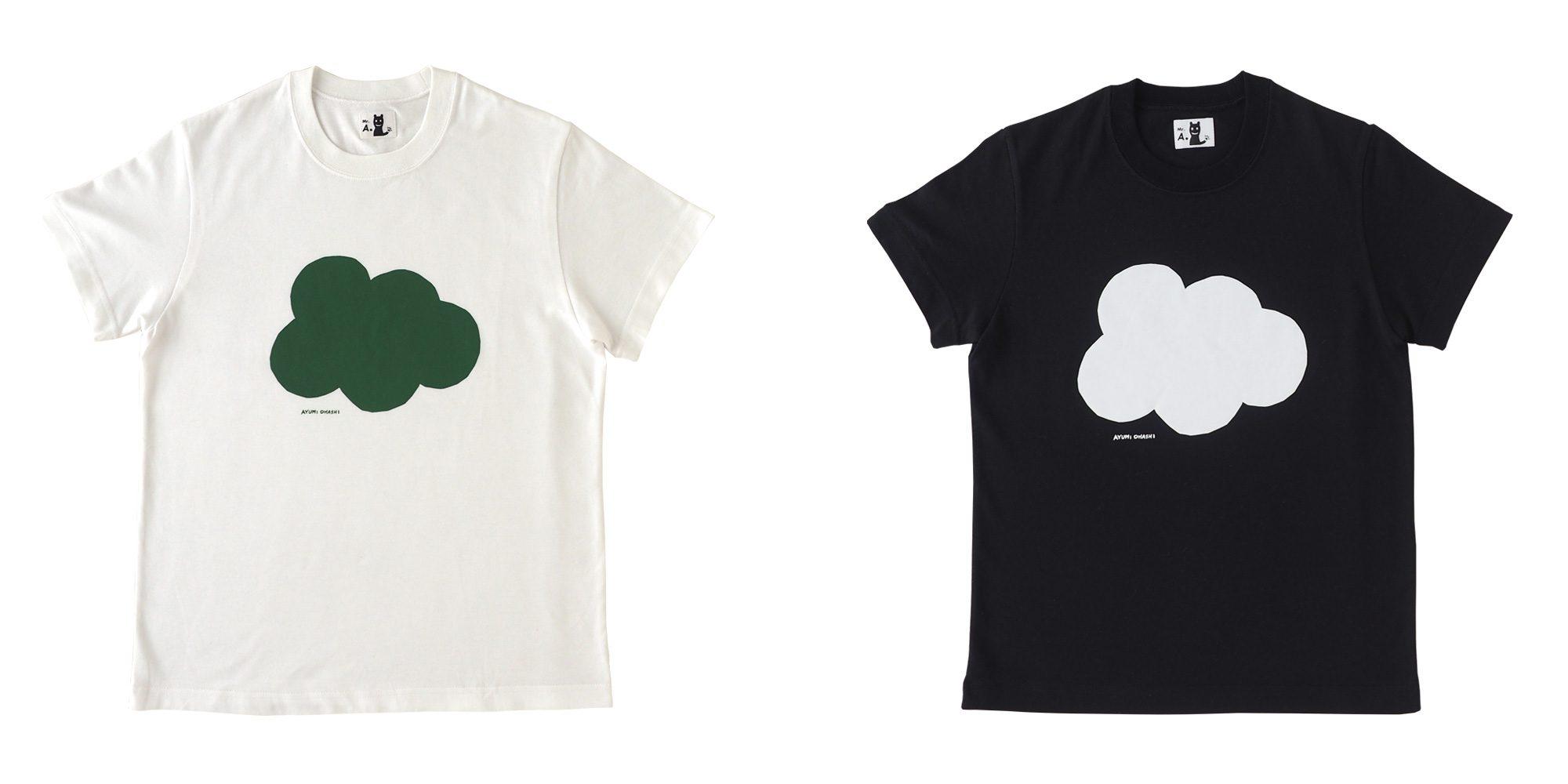 半袖プリントTシャツ(five dot)