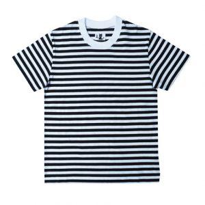 半袖ボーダーTシャツ(黒)