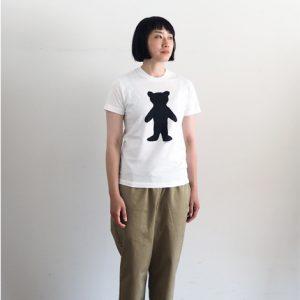 くま(白)モデル身長166cm Sサイズ着用