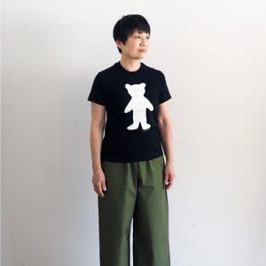 くま(黒)モデル身長153cm XSサイズ着用