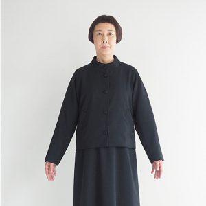 黒 モデル身長163㎝ Mサイズ着用
