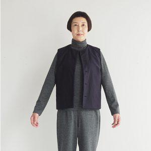 紺・裏表 モデル身長163㎝ Mサイズ着用