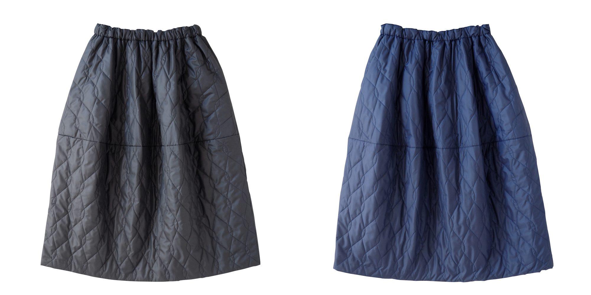 aa.キルティングスカート