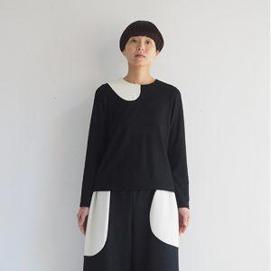 黒×白 モデル身長164㎝ Mサイズ着用