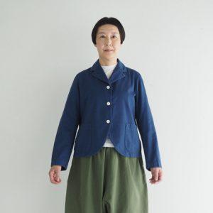 (製品染め)草色 モデル身長163㎝ Mサイズ着用
