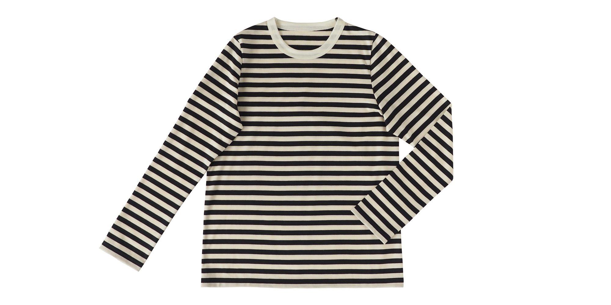 ウールボーダーTシャツ3