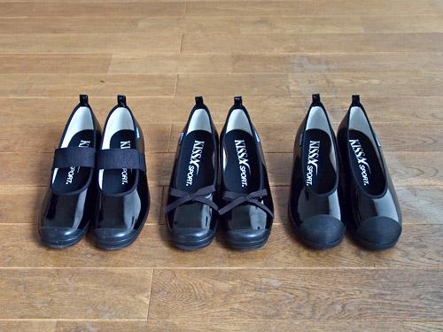 ... 靴。バレーシューズタイプの靴