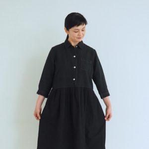 黒 モデル身長162㎝ Mサイズ着用