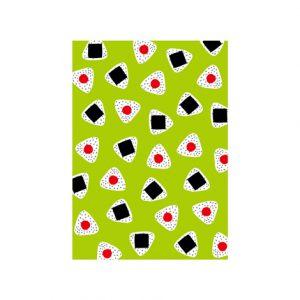ポストカード(おむすび)