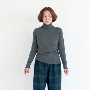 モデル身長158㎝ Sサイズ着用