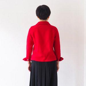 モデル身長153㎝ Sサイズ着用(黒)