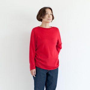 モデル身長158㎝ Sサイズ着用(赤)