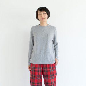 モデル身長164㎝ Mサイズ着用(グレー)