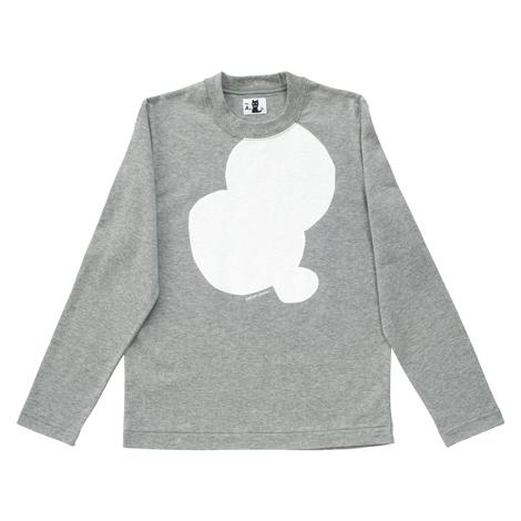 長袖Tシャツ(重なるドット)