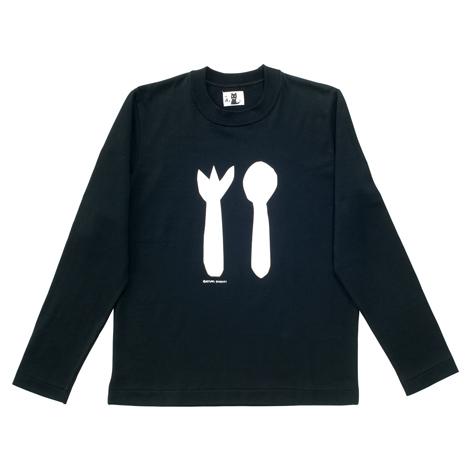 長袖Tシャツ(スプーンフォーク)