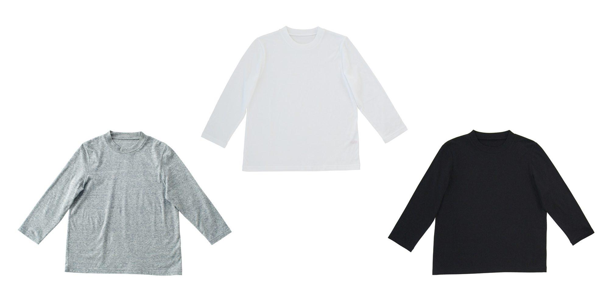 7分袖Tシャツ2