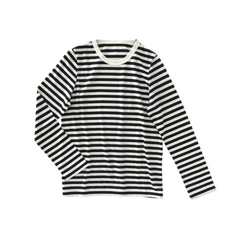 ウールボーダーTシャツ2