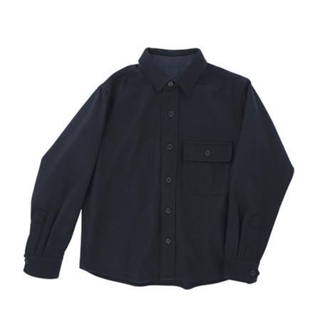 A.ウールシャツジャケット