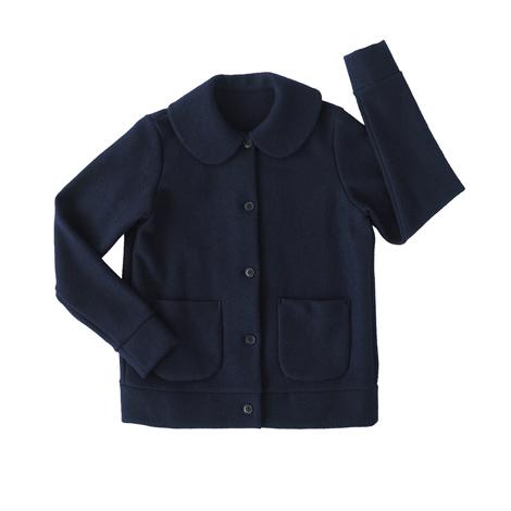丸襟ジャケット