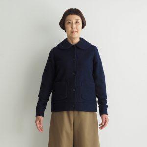 紺 モデル身長163㎝Mサイズ着用