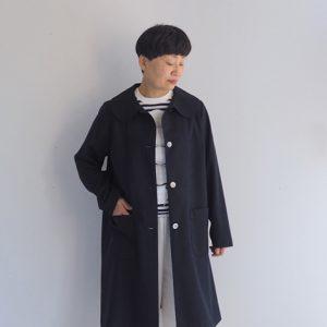 紺 モデル身長153㎝ Sサイズ着用