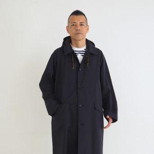 黒 モデル身長173㎝ Mサイズ着用