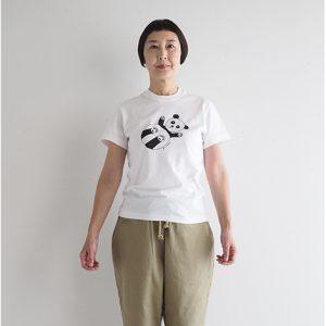 パンダ(白) モデル身長163㎝ Sサイズ着用