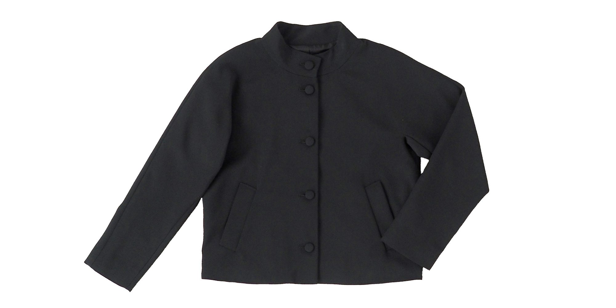 くるみボタンのジャケット