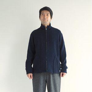 紺 モデル身長175㎝ Mサイズ着用