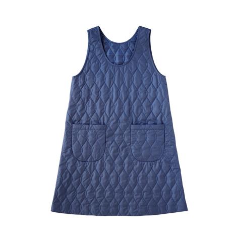 aa.キルティングジャンパースカート