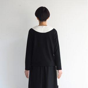 黒×白・後ろ モデル身長164㎝ Mサイズ着用