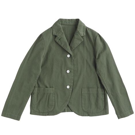 テーラードジャケット(製品染め)・(製品洗い)