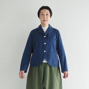 (製品染め)紺色 モデル身長163㎝ Mサイズ着用