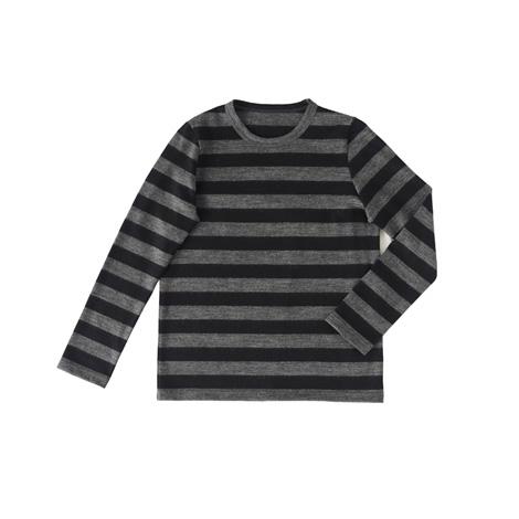 厚手ウールボーダーTシャツ