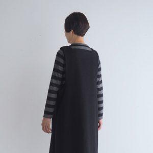 黒・後ろ モデル身長163㎝ Mサイズ着用