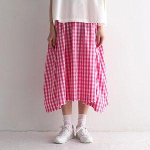 白×ピンク モデル身長164㎝ Mサイズ着用