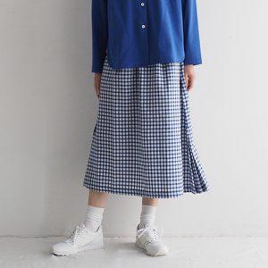 白×青 モデル身長164㎝ Mサイズ着用