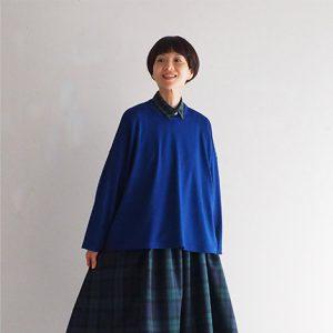 青 モデル身長164㎝ Mサイズ着用