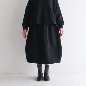 黒 モデル身長163 cm Mサイズ着用